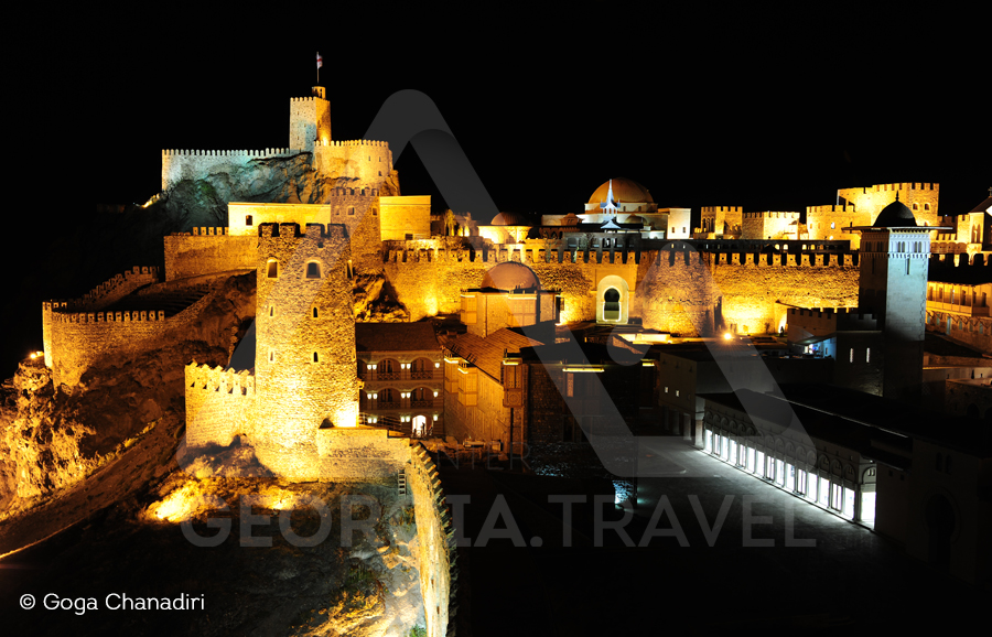 Akhaltsikhe rabati at night