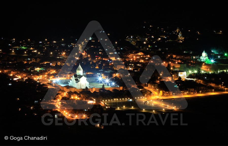Mtskheta Tbilisi Tour Mtskheta city tour at night