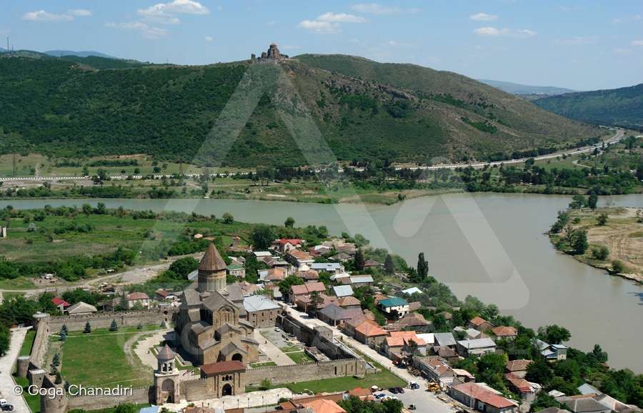 Mtskheta city tour view from cross monastery
