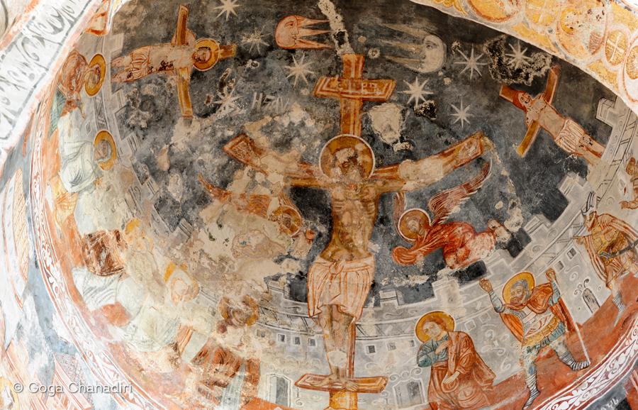 Racha–Lechkhumi nikortsminda frescos