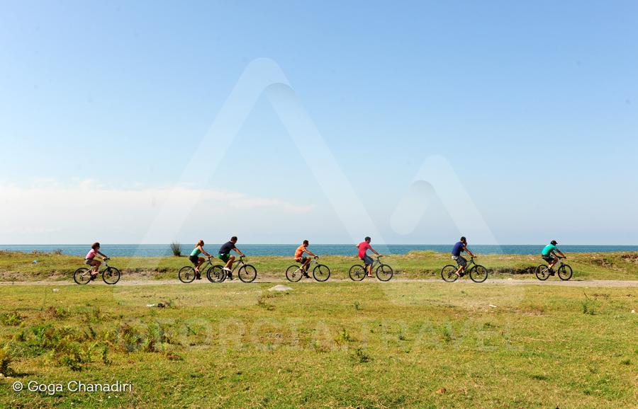 Zugdidi anaklia biking